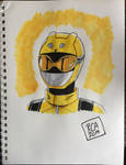 Beast Morphers Yellow Ranger by robertamaya