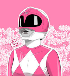Mighty Morphin Pink Ranger by robertamaya