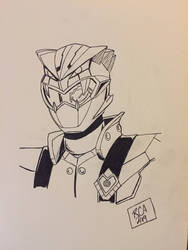 Cybervillain Blaze by robertamaya