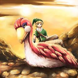 Loftwing Love: Zelda by Sukesha-Ray