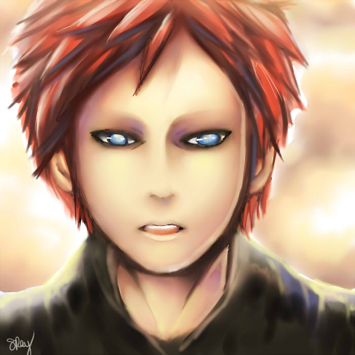 Gaara: Shakaku of the Sand by kankitsuru
