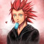 Kingdom Hearts: Axel by Sukesha-Ray