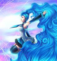 Hatsune Miku: Paint Me a Melody by Sukesha-Ray