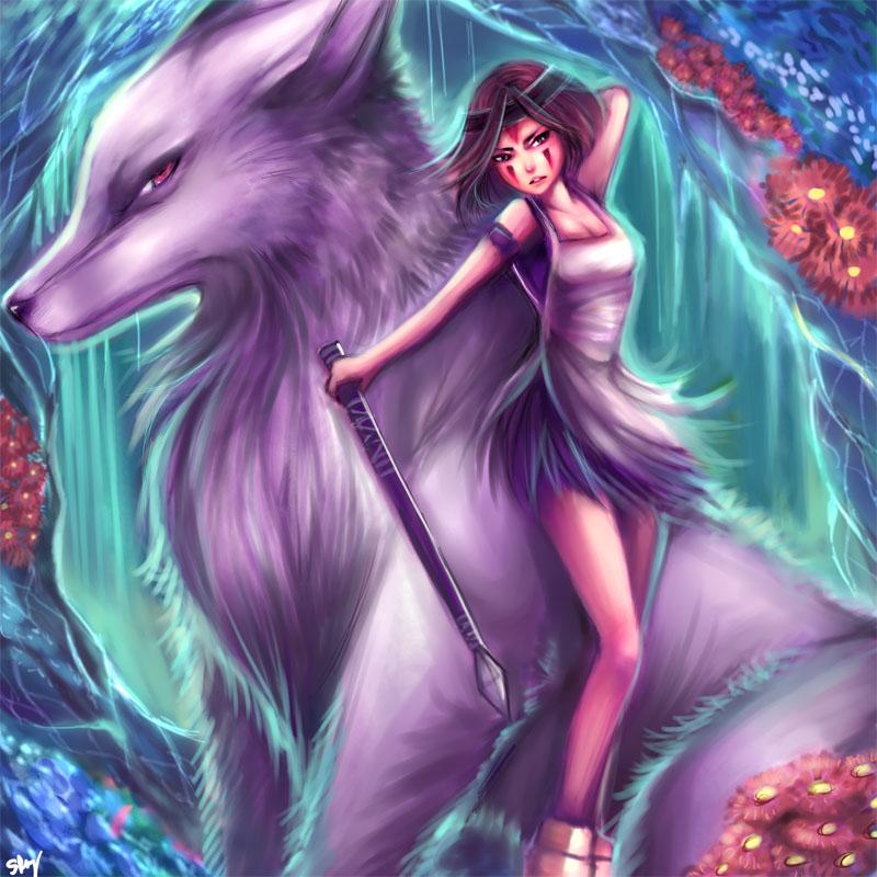 Princess Mononoke by kankitsuru