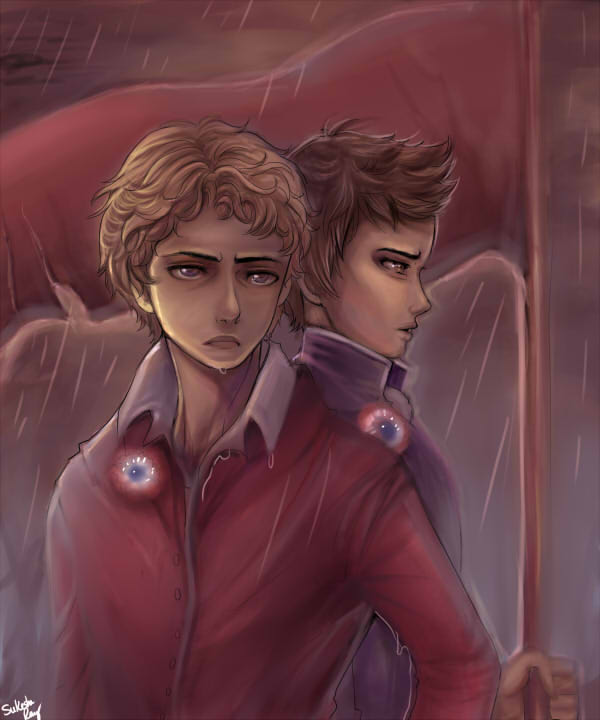 Les Miserables: The Boys of Revolution by Sukesha-Ray