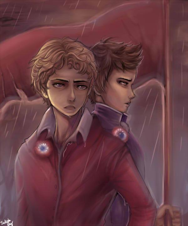 Les Miserables: The Boys of Revolution by kankitsuru