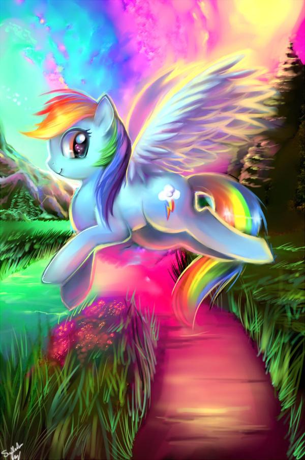 Rainbow Dash by kankitsuru