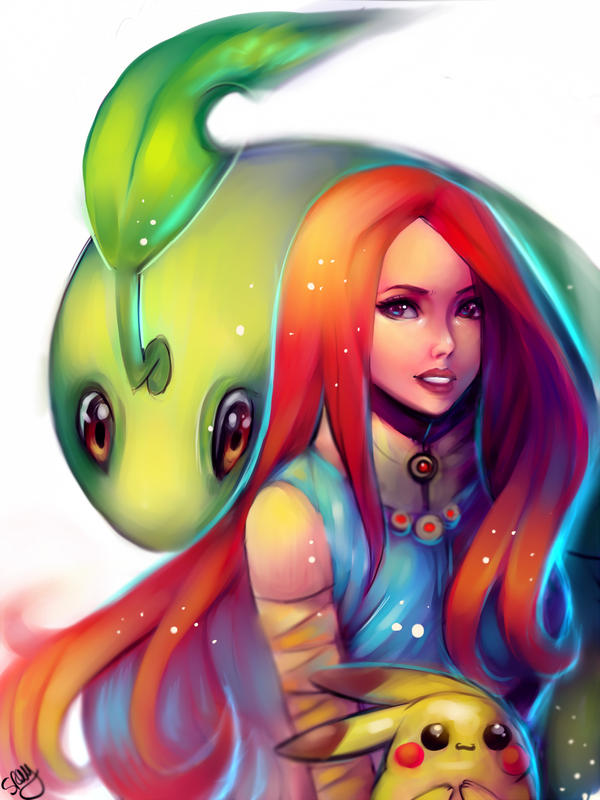 Pokemon Trainer Serena. by Sukesha-Ray