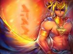 Pharaoh Atem by Sukesha-Ray