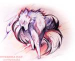 Kitsune Fox by Sukesha-Ray