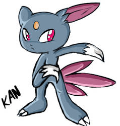 Sneasel by Sukesha-Ray