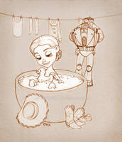 Laundry day by lily-fox