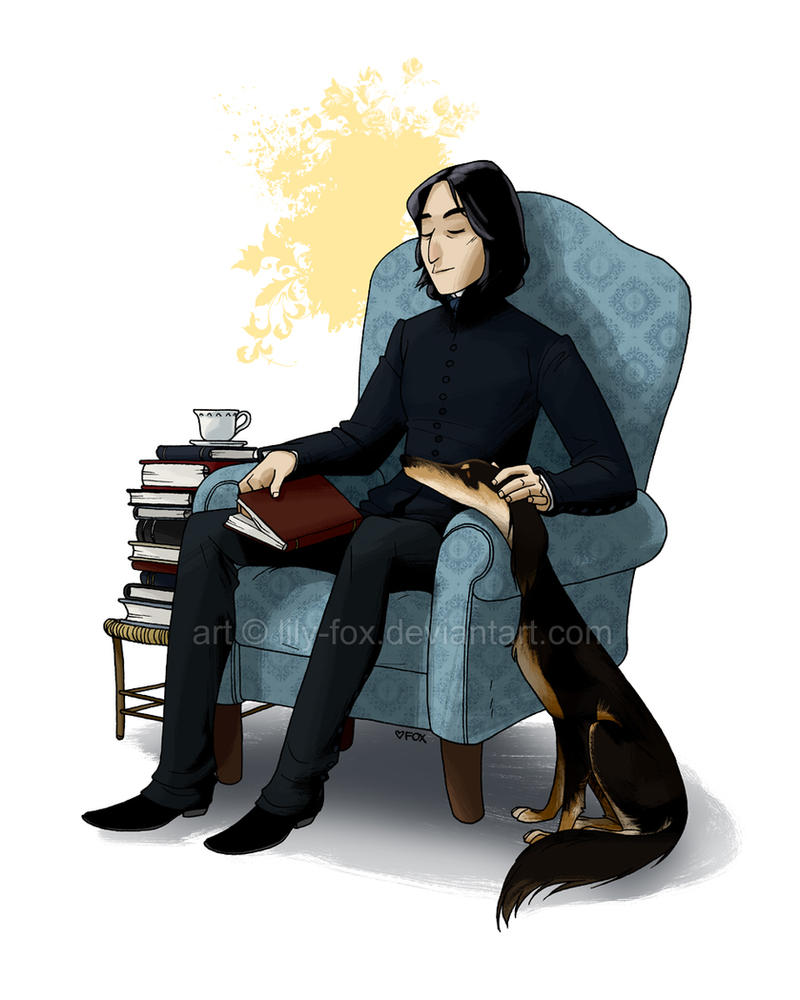 Saluki by lily-fox
