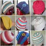 9 hats x