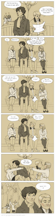 Sherlock + John's Very Silly Disneyworld Adventure