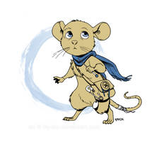 A heroic little mouse