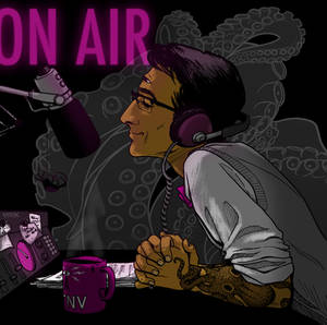 On the air with Cecil Baldwin