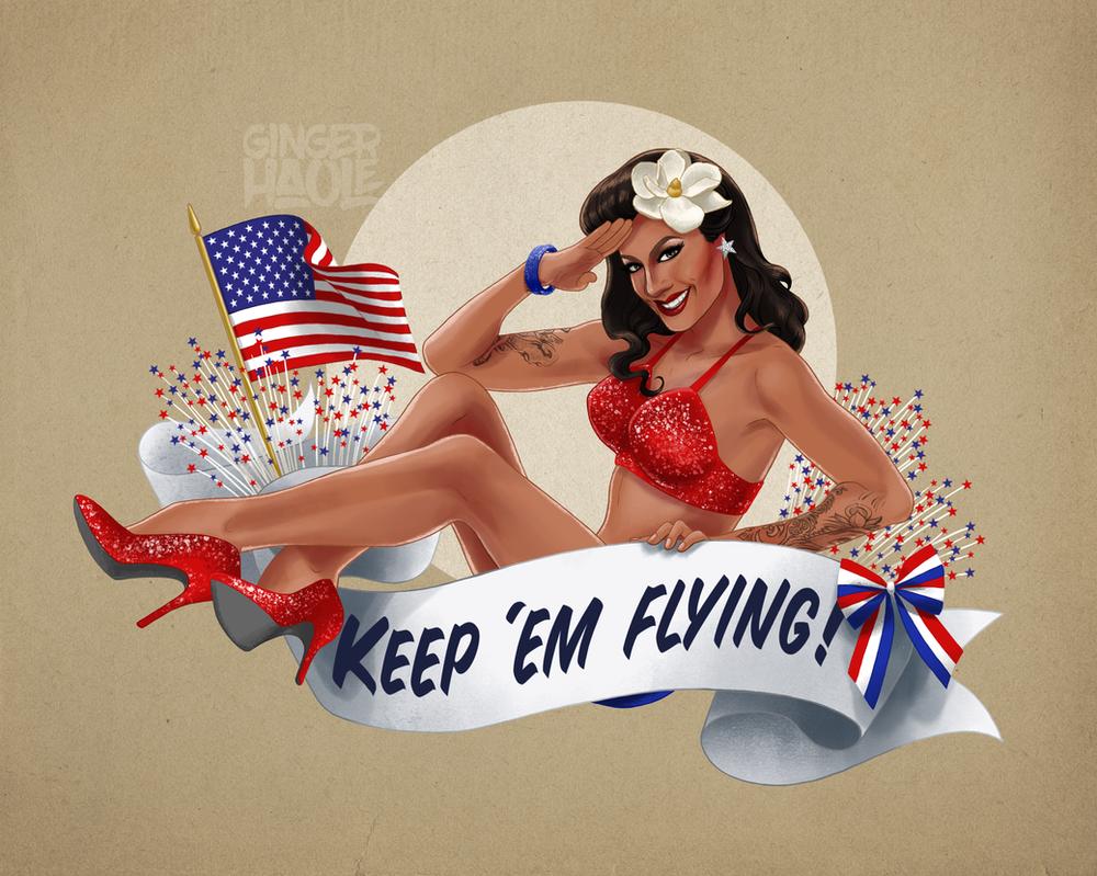 Keep 'em flying by lily-fox