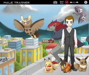 Pokemon Trainer by NemesisWonderland