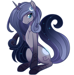 Magical Midnight Crescent by FeatherBlot
