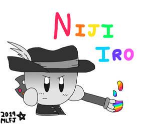~ Niji Iro, Painter Warrior ~ by NeoverseMike