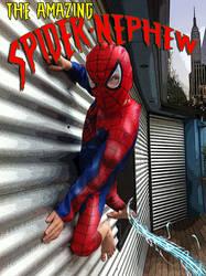 Spider-nephew by Q-Dog2099