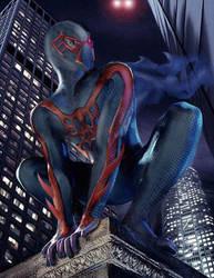 Spiderman2099 by Q-Dog2099