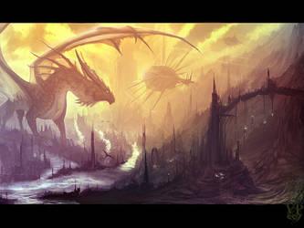 Flying sorcery by VampirePrincess007