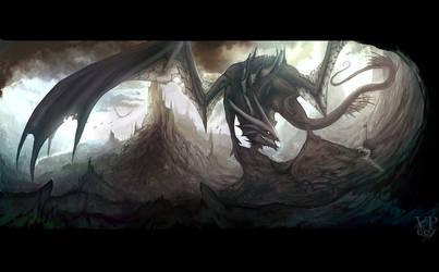 Dark dragon lord by VampirePrincess007
