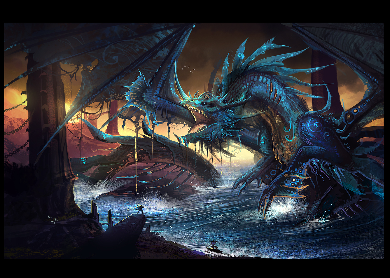 Rift: Water colossus by VampirePrincess007