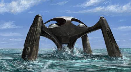 Atlantis - The Spy Who Loved Me by matteline67