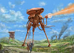 Martian Fighting Machine - The War of the Worlds