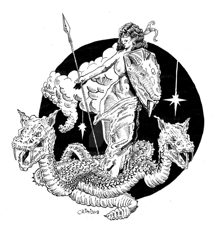 Minerva by MarkCrimi