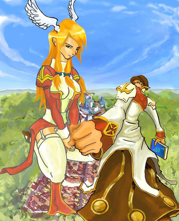 Ban and Freiya - RO character by ekoyagami