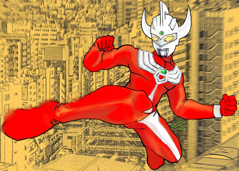 Ultraman Taro by ekoyagami