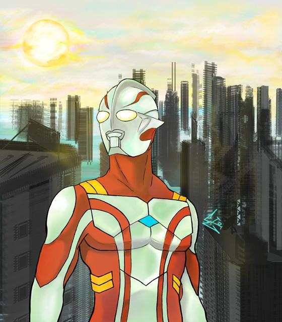 Ultraman Mebius by ekoyagami