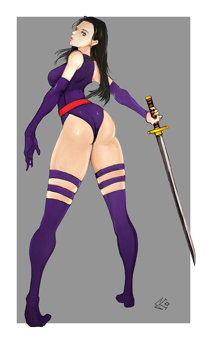 Psylocke by ekoyagami