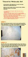 tutorial for watercolor