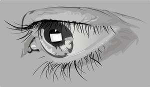 eye of the cake