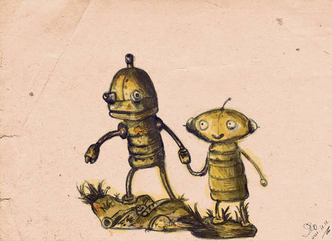 machinarium_ coloring practice