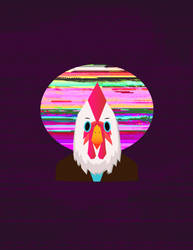 Hotline Miami Cock with Glitch Moon