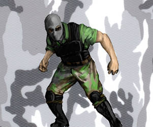 mercenary sketch by Bowly69