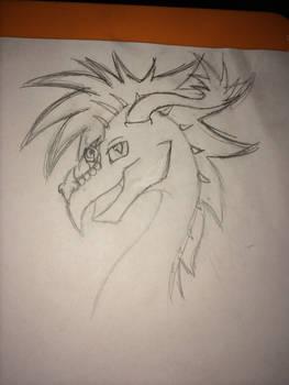 Dragon idea  .:WIP:.