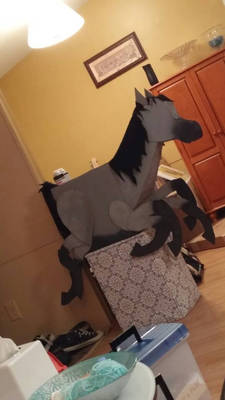 Sleipnir - The Cardboard Spider Horse