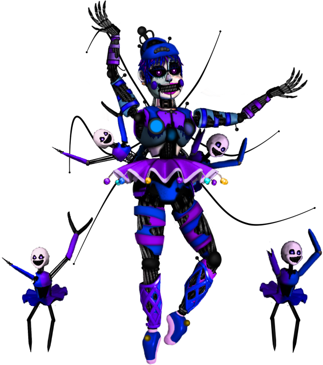 how to make ballora fnaf