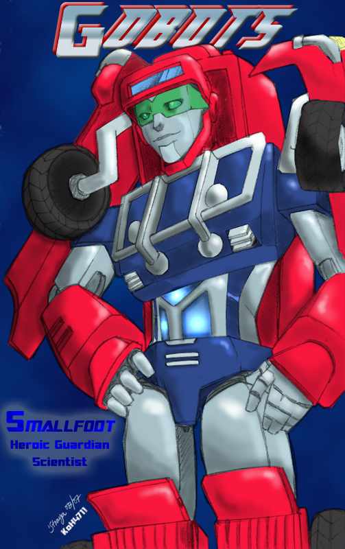 Mighty Robots-Smallfoot Reborn by KoH4711