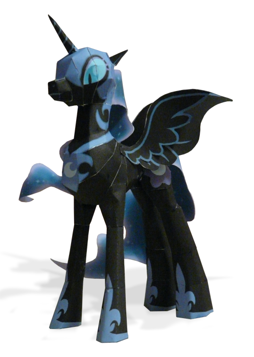 Nightmare Moon final prototype by muffinshire