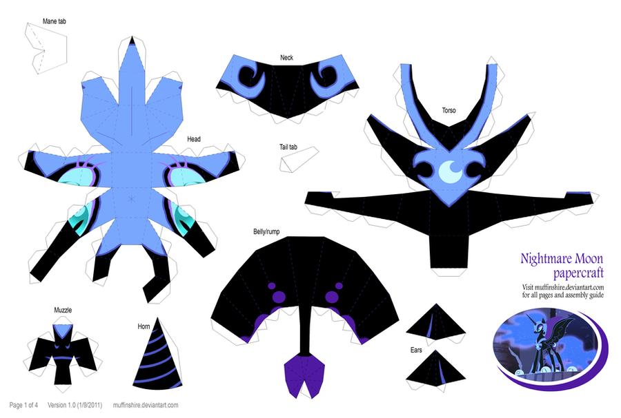 Maya D Models To Paper Craft