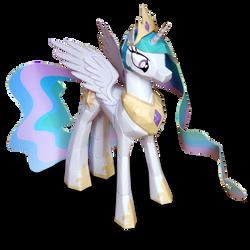 Princess Celestia papercraft
