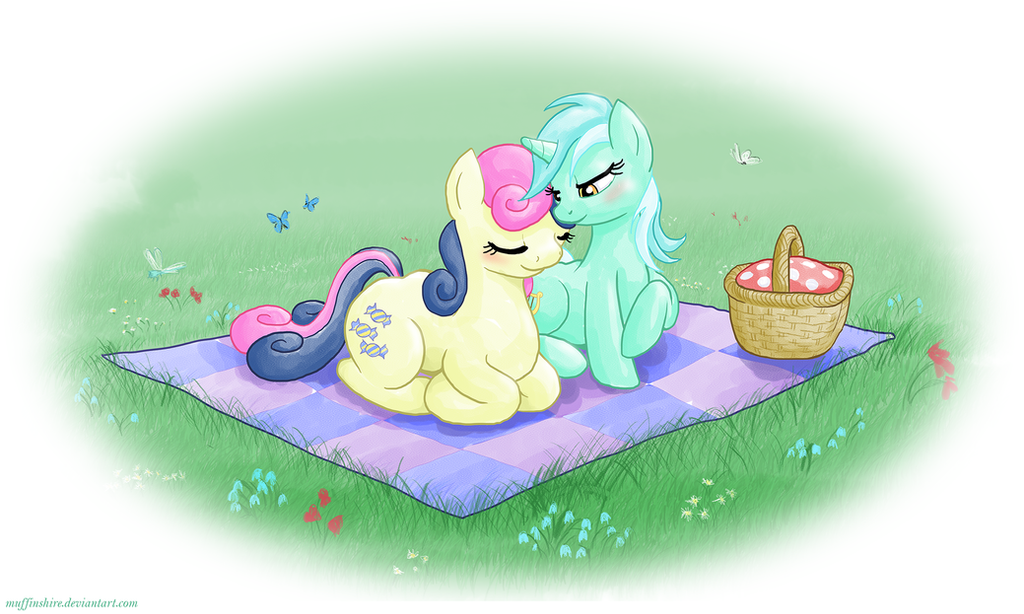EqD ATG II - Day 16 - Ponies on a Date by muffinshire